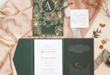Andin & Angelo by Meltiq Invitation