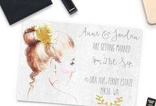 Anne & Jordan by She.Fox Invitations