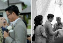 Hendy & Annalia wedding by andreaslee photography