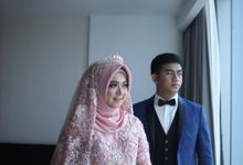 Marriage of Elke & Fifa 2 by Alulla Bride