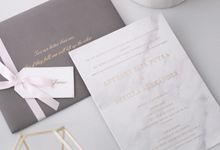 TWO ARE BETTER THAN ONE by BloomingDays Invitation Studio