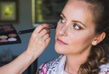 Sarah Wedding  by Antonia Deffenu make-up artist