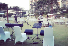 Sound system equipments for event/wedding in Bali by antvrivm sound & lighting
