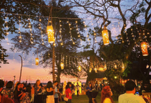 Fairy lights for your event/wedding at ASL Bali by antvrivm sound & lighting