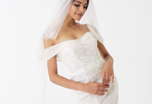 Mermaid wedding dress for Anagha  by Anve Sposa