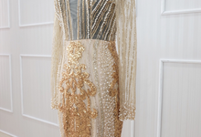 Gold dress  by Anve Sposa