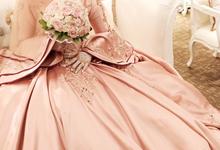 Muslim wedding gown  by Anve Sposa
