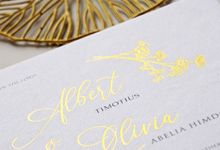 Albert & Olivia Wedding by Gifu Invitation & Souvenir