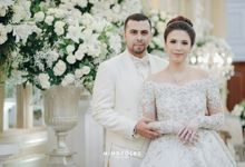 Shamilla & Daniel Reception by Menara Mandiri (Ex. Plaza Bapindo) by IKK Wedding
