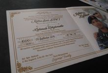 Ratna - Lukman (White & Gold Invitation) by Elderco.id