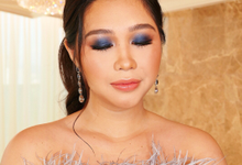 Glam look for ALYSSA by April Ibanez Makeup Artistry