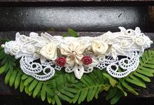 Wedding Garters by Couffia Couture