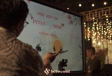 AR Photo booth at the Wedding of Intan & Bebe by Belovewed
