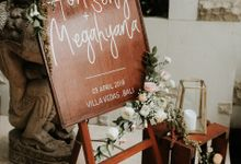 Vintage Elegant Arrangement by Bali Wedding Atelier