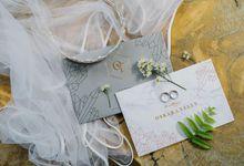 The Wedding of Oskar & Yelly by Bali Wedding Atelier