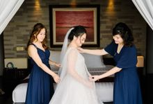 The Wedding of Steve &Jessyca by Yumi Katsura Signature