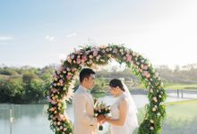 Adma Wedding Decor at Bukit Pandawa Golf & Country Club by Bukit Pandawa Golf & Country Club