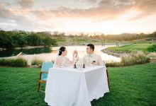 Romantic Dinner set Up at Bukit Pandawa Golf & Country Club by Bukit Pandawa Golf & Country Club