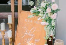 The Wedding of Johan & Murie by Bali Wedding Atelier