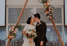 Tian Cheng & Sihui - Marble Metallic Wedding by Lily & Co.