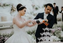 Wedding Of Ardinsyah and Pricillia by Menara Mandiri (Ex. Plaza Bapindo) by IKK Wedding