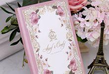 LOVE IN PARIS by BloomingDays Invitation Studio