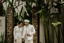 Ario & Abel Wedding at Azila Villa by AKSA Creative