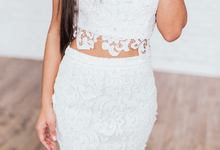 'Euphoria' Lace Two Piece Set by Ariti Kaziris