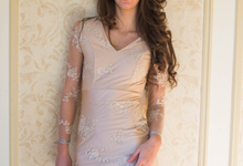 'Amarilia' Embellished Dress by Ariti Kaziris
