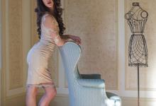 'Amarilia' Embellished Dress by Ariti Kaziris