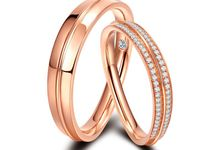 Tiaria Arlene de Grace Diamond Ring Perhiasan Cincin Pernikahan Emas dan Berlian by TIARIA