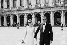 Romantic Wedding in Venice by Bridal Luxury Beauty Service