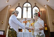 wedding angel & hendra by afans art photography