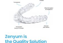 Zenyum - Behel Transparan Premium by Zenyum Indonesia
