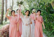 A L A N  &  N I A  Wedding by ARTGLORY BALI
