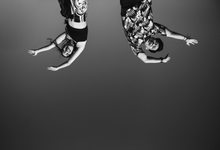 """Black & White version """"Mike & Renata"""" by ARTGLORY BALI"""