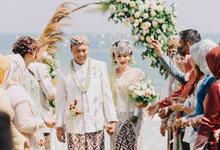 """The Wedding of """" A L  &  G E B Y """" by ARTGLORY BALI"""