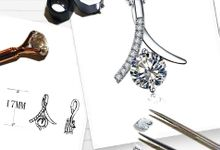 Customized Art Piece-Bracelet Necklace Pendant Earrings by eClarity Diamonds
