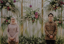 Rima & Reza Engagement by Artsy Design