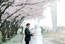 Prewedding Cherryblossom  Korea Selatan by Value.photography