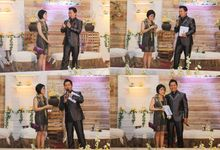 the wedding of stephen & ayu by Yosua MC