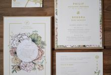 Debby & Philip by Dipapier Design