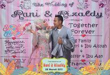 Rani & Rizaldy by SukaMoto Photobooth