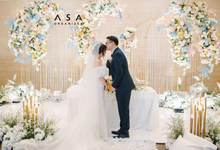 Intimate Wedding at Glass House, RCPP - Ritz Carlton Pacific Place by ASA organizer