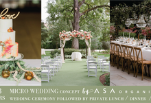MICRO WEDDING / 50 PAX by ASA organizer