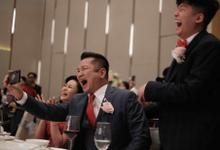 Wedding Reception Surprise Idea - MELISA❤️TOMMY by ASA organizer