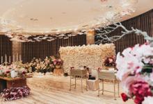 Vanda Ballroom at Hotel Mulia - Bobby ❤️ Chelsea by ASA organizer