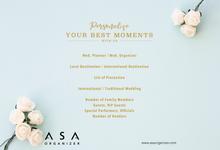 ASA - Destination Wedding Planner & Organizer by ASA organizer