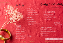Sangjit Ceremony Package by ASA organizer