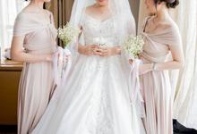 INTON LILAN WEDDING by bridestore indonesia